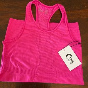 Zyia Hot Pink Copper Charged tank NWT Never Worn